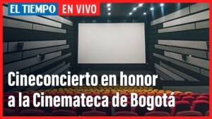Live: Film Concert for the 50 years of the Bogotá Cinematheque