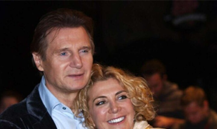 Love Beyond Death Liam Neeson takes refuge in movies and