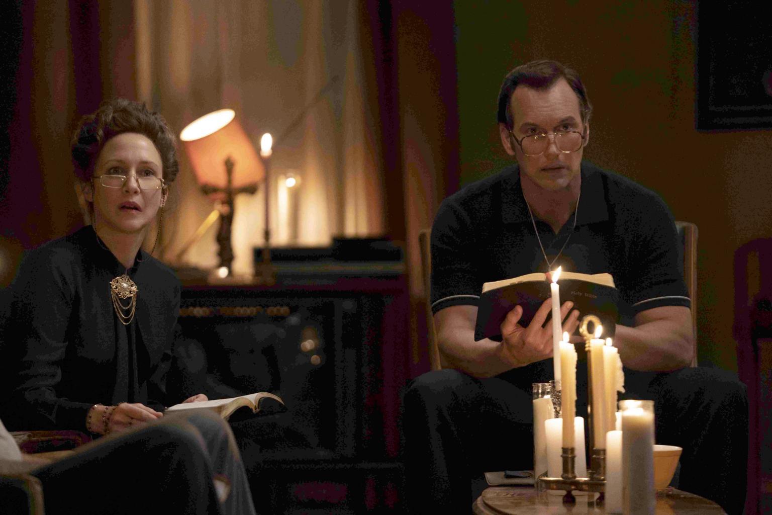 Love directs conjuration movies, says Vera Farmiga