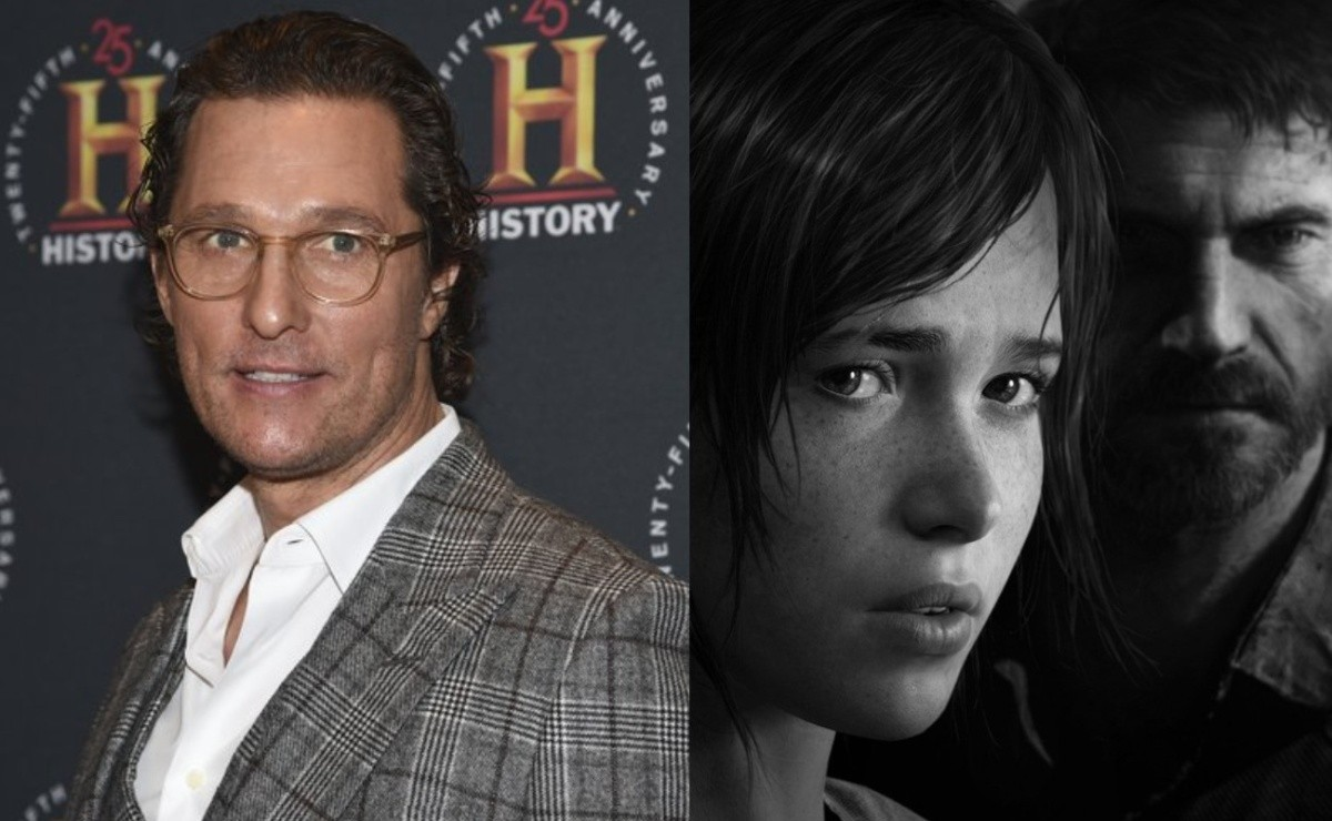"""Matthew McConaughey turned down a major role in """"The Last of Us"""""""