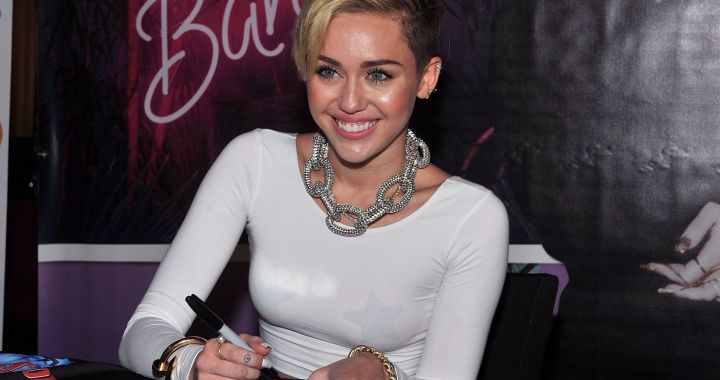 Miley Cyrus celebrates the 8th anniversary of the video that