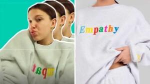 Millie Bobby Brown reveals where to buy her favorite sweatshirt