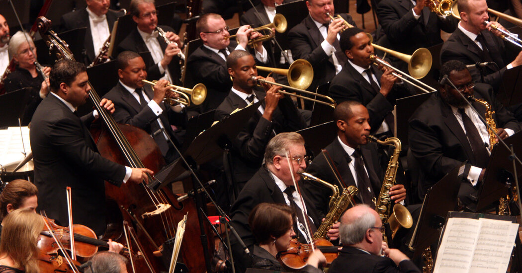 Musical chairs Changing venues would reduce aerosols in orchestras