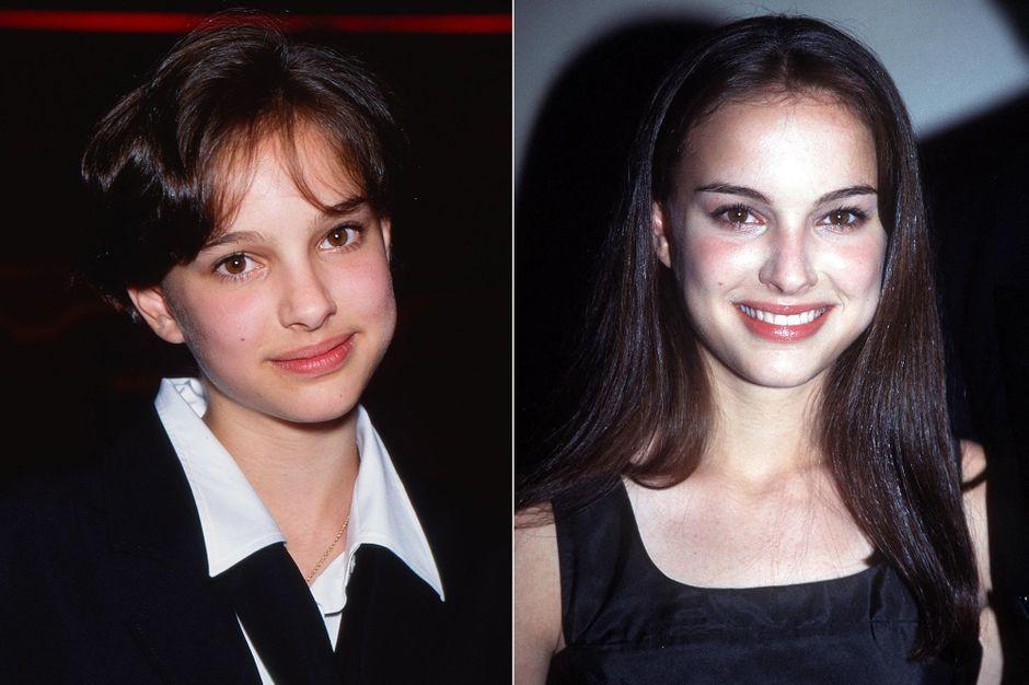 Natalie Portman, the photos of her debut
