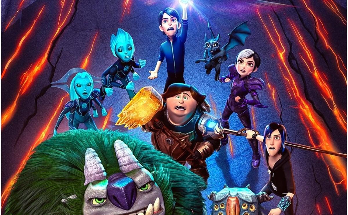 Netflix lanza avance completo de Trollhunters Rise of the Titans