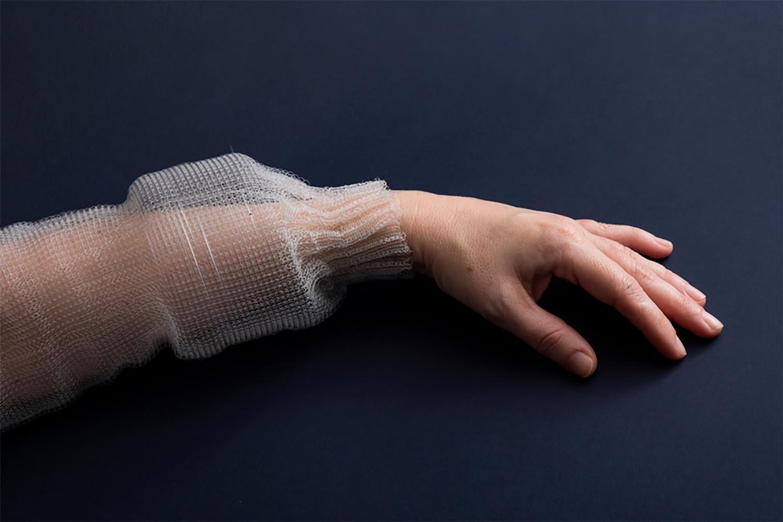 New digital fiber: imagine storing your wedding music in your dress