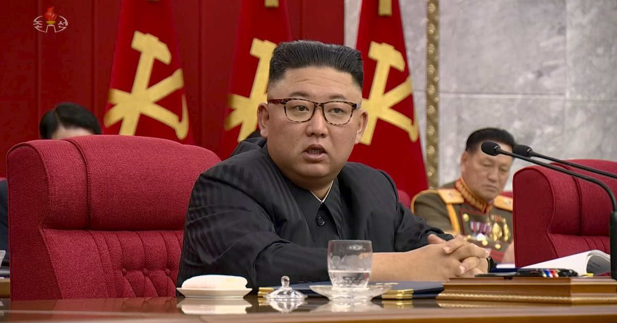 North Korean state television commented that the country is devastated