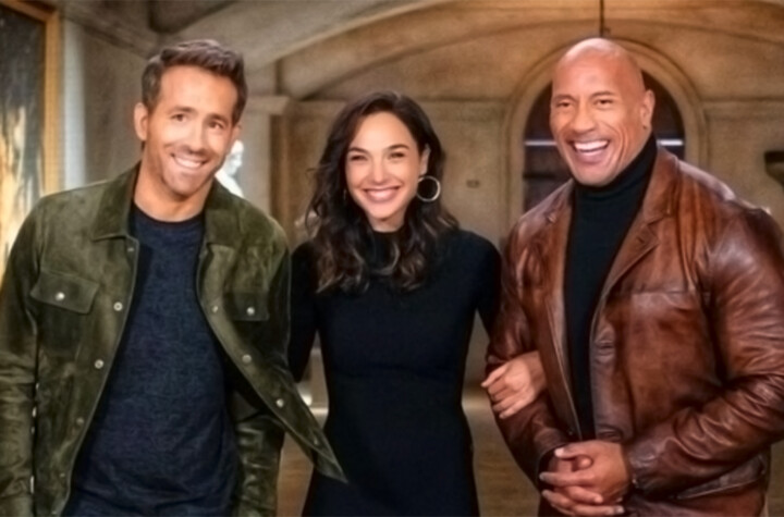 Red Notice release date revealed by Dwayne Johnson with new