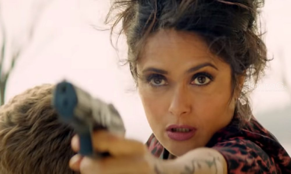 Salma Hayek is the boss in 'Hard to care 2'