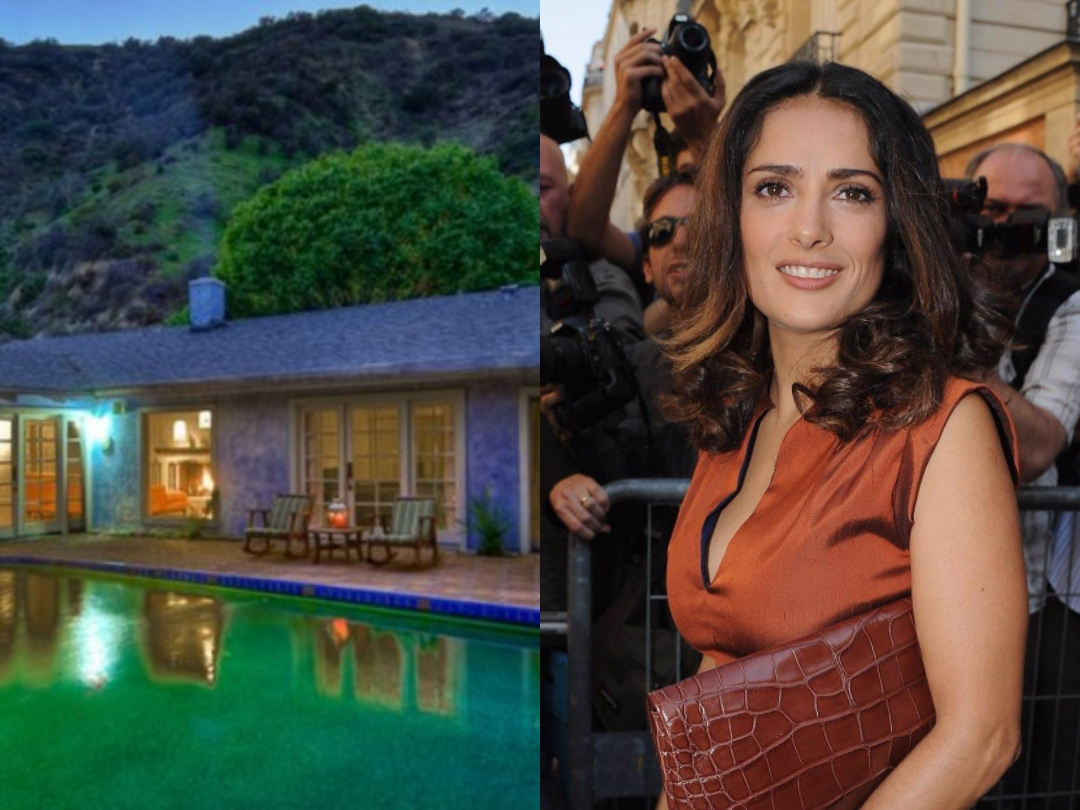 Salma Hayek rented the first house she bought when she debuted in Hollywood: she asks for $ 11,000 a month