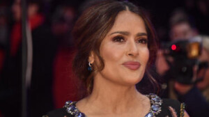 Salma Hayek reveals why her breasts got bigger