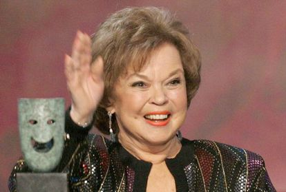 Actress Shirley Temple, during a tribute in Los Angeles in 2006.