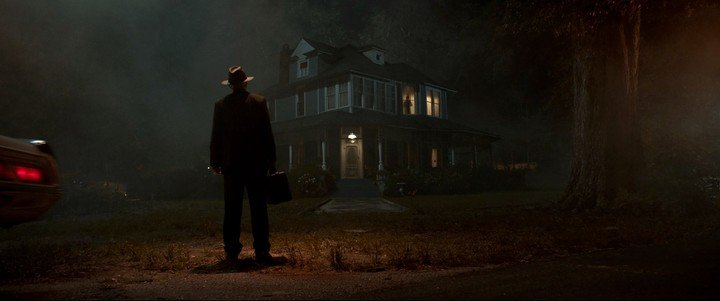 """Tribute to """"The Exorcist"""". The image is a clear reference to the classic by William Friedkin, from 1973. Photo WB"""