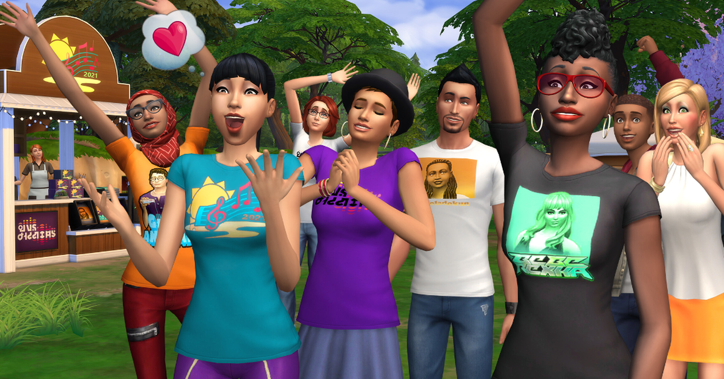 THE SIMS 4 BECOMES THE STAGE OF A NEW MUSIC FESTIVAL THIS SUMMER WITH THE SIMS SESSIONS