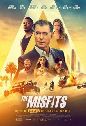 The Misfits (2021). Pierce Brosnan. Film Review - Martin Cid Magazine