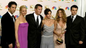 The emotional reunion of the cast of Friends was about