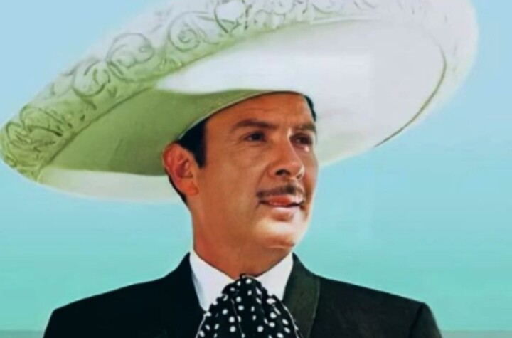 The film for which Antonio Aguilar and Flor Silvestre were