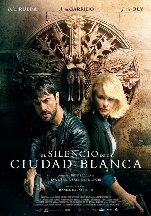 "The script was prepared by Alfred Pérez Fargas and Roger Danés based on the novel by Eva García Sáenz de Urturi, ""The silence of the white city"". (Photo: Netflix)"