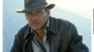 These are the first images of Harrison Ford in Indiana Jones