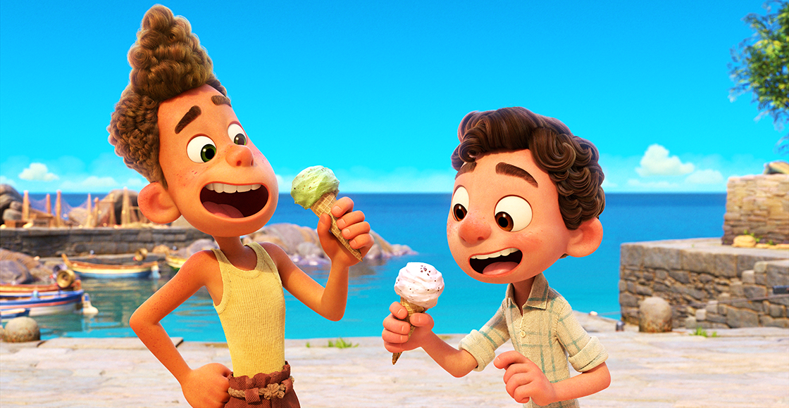 This is the true story behind 'Luca', the new Pixar movie