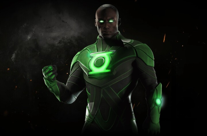 This was the encounter between Green Lantern and Batman that