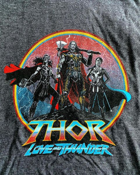 Thor 4 first look at the new look of Thor