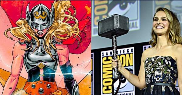 Thor: Love And Thunder   Filtered first image of Jane Foster as Mighty Thor   Tomatazos