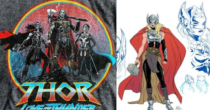 Thor Love Thunder Natalie Portmans She Thor Look Leaked