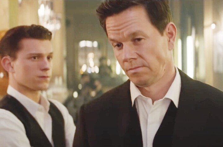 Tom Holland Mark Wahlberg Dress To Kill For First