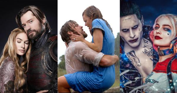 Toxic film and TV couples who set a bad