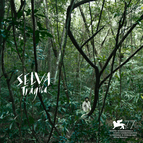 Poster of 'Tragic Jungle' for the Venice 2020 Exhibition.