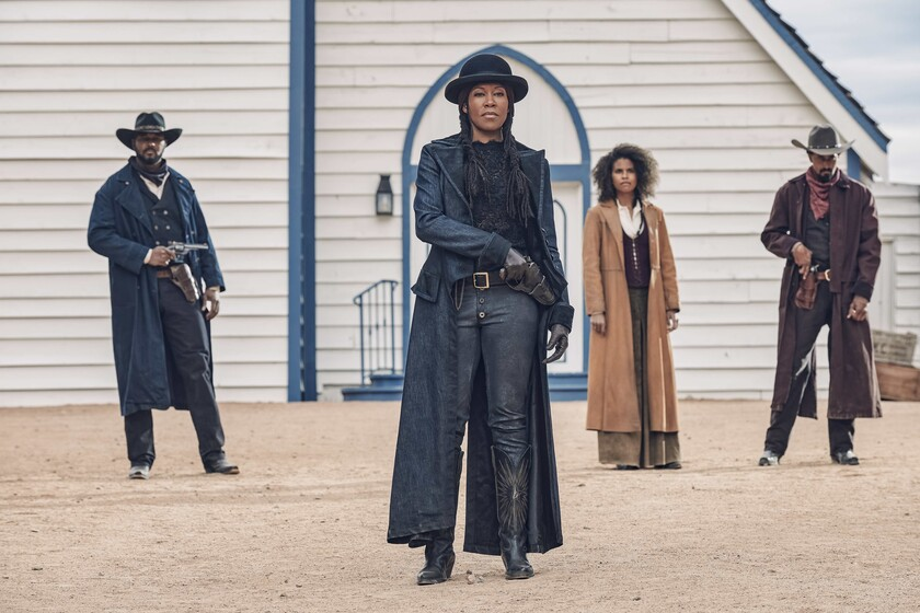 """Trailer of 'Harder will be the fall': Netflix presents its wild """"western new wave"""" loaded with stars to the rhythm of funk"""