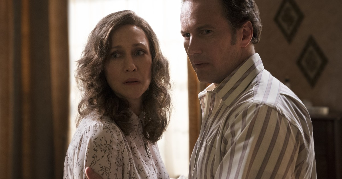 Vera Farmiga and Patrick Wilson put their relationship to the test in the new 'the Conjuring'