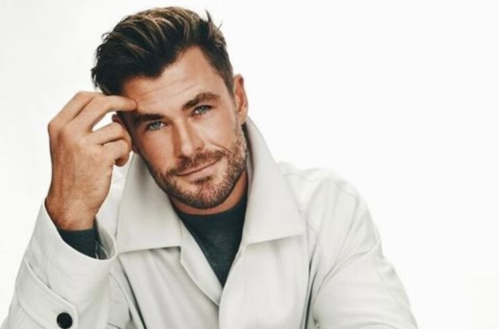 Very elegant Chris Hemsworths new campaign for a renowned brand