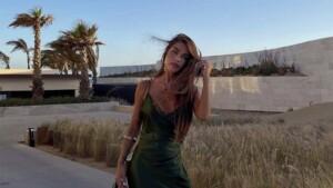 Violeta Mangriñán joins the fever for Zara's Keira Knightley dress