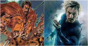 What would Aaron Taylor Johnson look like as Kraven the Huntsman
