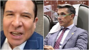 """""""You are mean and manipulative"""": Sergio Mayer throws himself against Gustavo Adolfo Infante in full transmission - Futbol RF"""