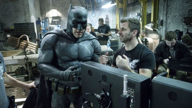 Zack Snyder says Ben Affleck wants to continue with his individual Batman movie