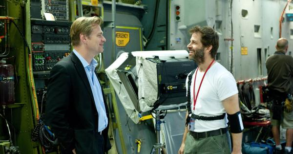Zack Snyder thinks Christopher Nolan is a genius and says they respect each other | Tomatazos