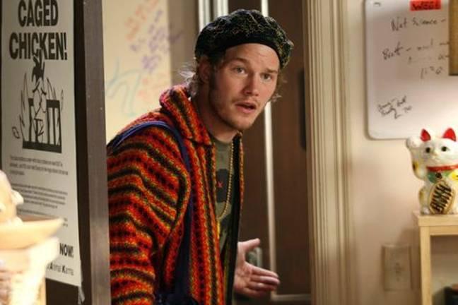 Chris Pratt starred in The OC in 2006. Credit: Fox