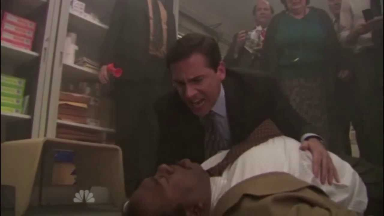 Applause! Man saves his daughter's life thanks to an episode of 'The Office'