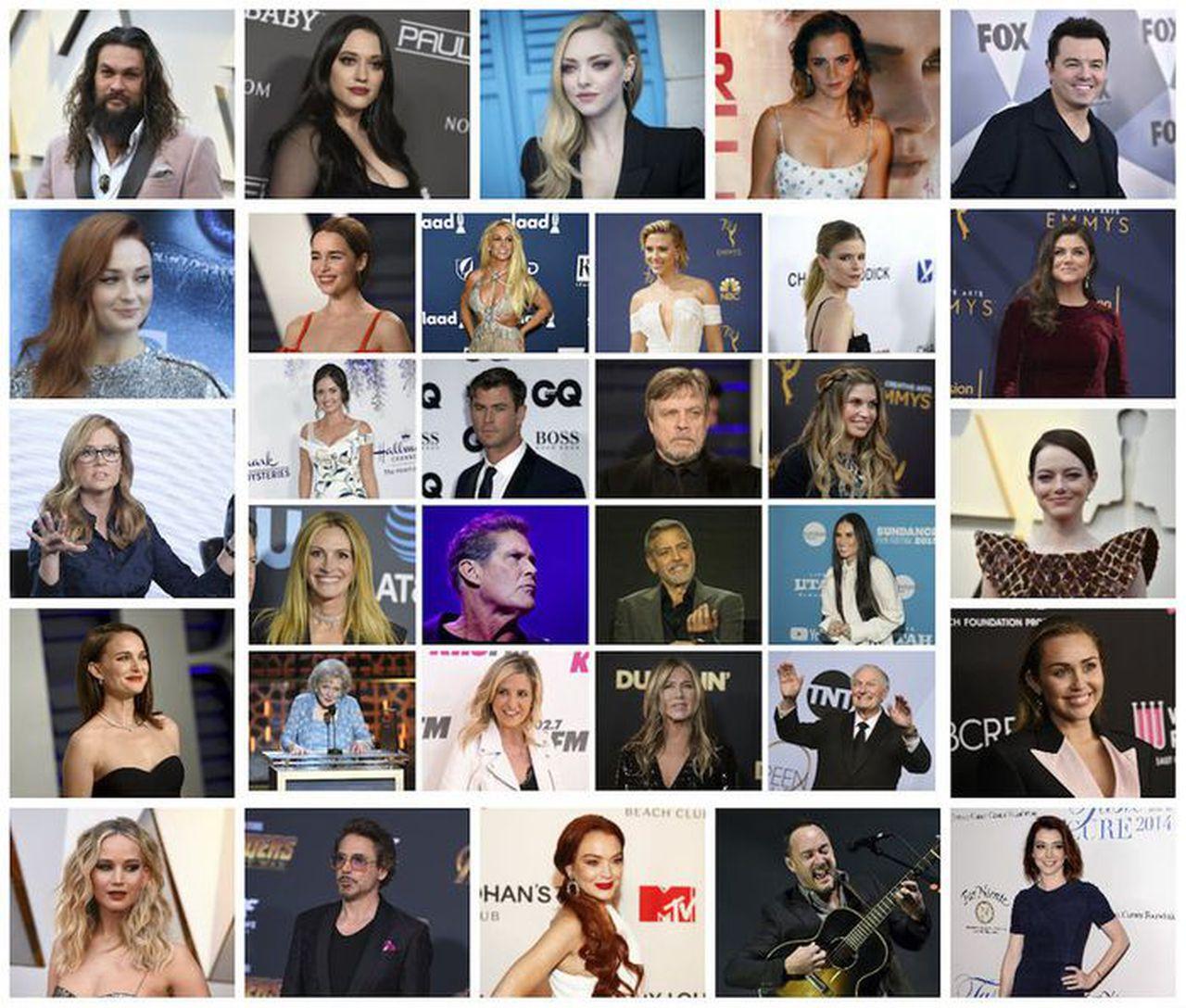 Faits amusants sur les célébrités collectées