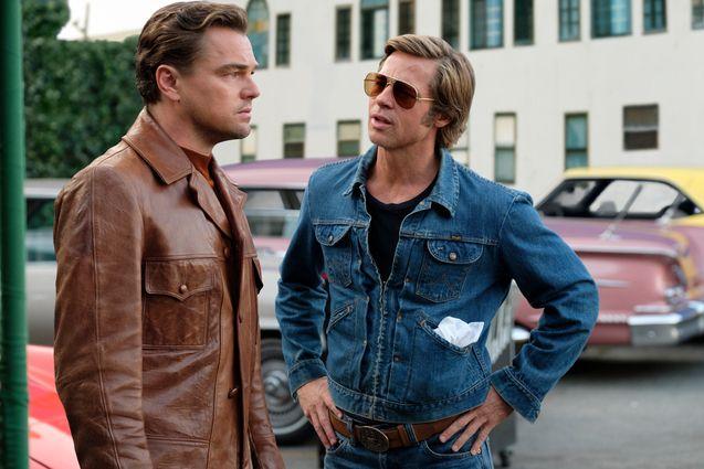 photo, Brad Pitt, Leonardo DiCaprio