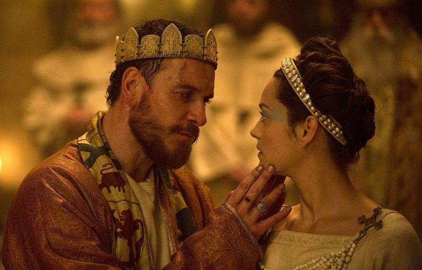 Marion Cotillard is Lady Macbeth, opposite Michael Fassbender (her husband), in