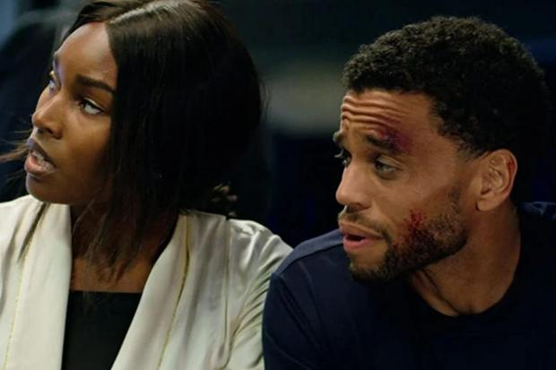 Michael Ealy and Damaris Lewis in Fatale (Photo: Netflix)