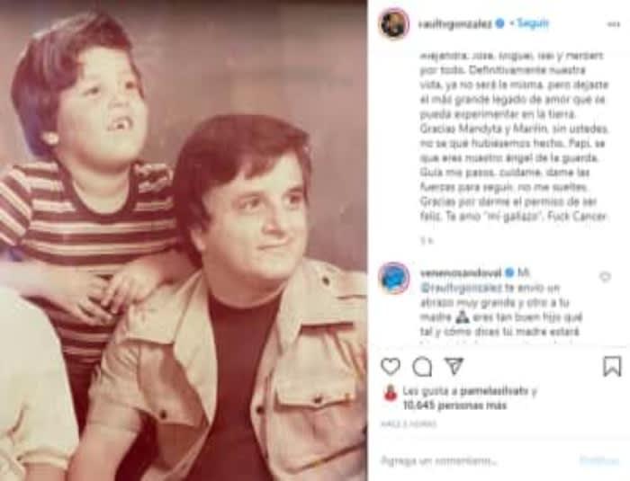 The father of Raúl González, host of Despierta América, dies