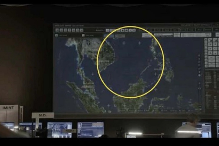 In two episodes, the fiction shows the maritime zone between Vietnam and China