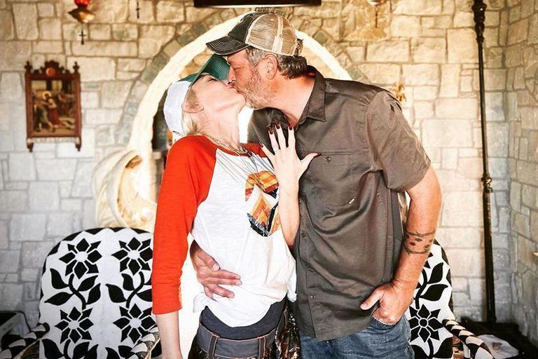 Gwen Stefani y Blake Shelton están comprometidos