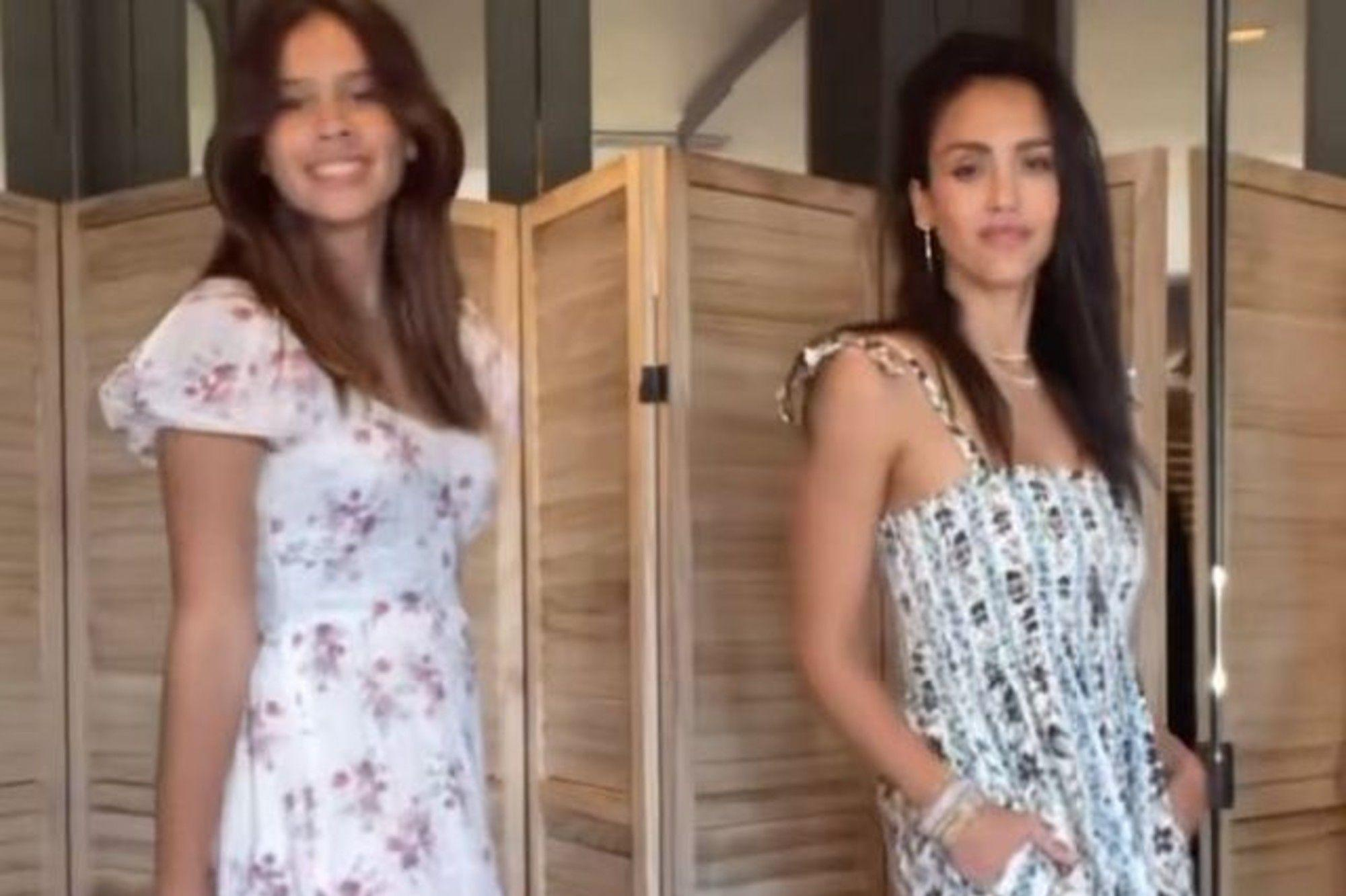 Jessica Alba published a video with her daughter Honor and surprised by their resemblance