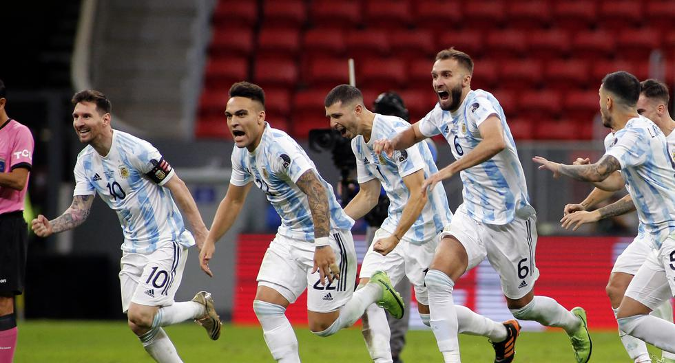 Argentina - Colombia: summary of the match and goals for Copa América 2021